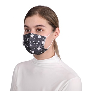 High Quality Disposable Star Pattern Funny Medical Surgical Face Mask