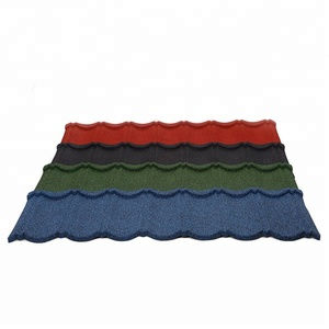 Nigeria superior Colorful Stone Chip Coated Metal Roofing, Lowes Sheet Metal Roofing Tiles Alibaba China