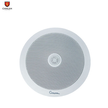 Factory price 6.5inch 100v 20w 2-way hifi passive ceiling speaker with treble and bass