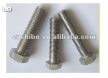 Mo 99.95% molybdenum threaded rods/ fasteners