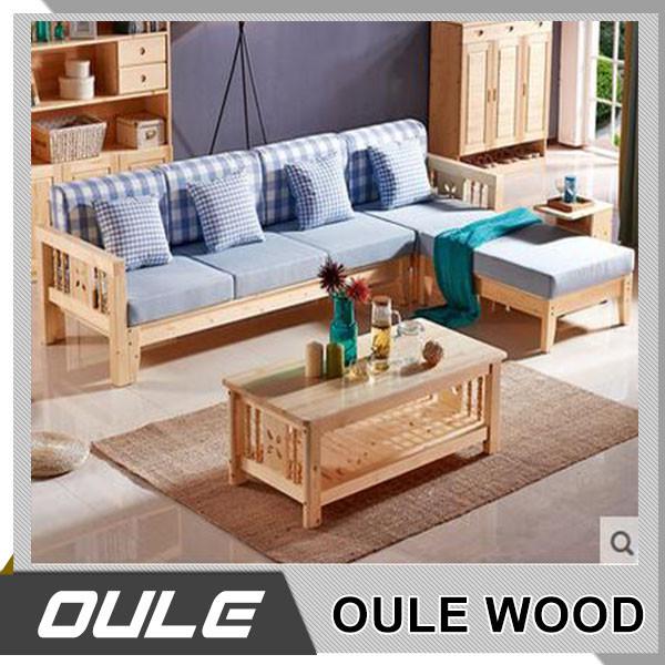Modern Simple Corner Wooden Frame Fabric Sofa Set Designs Buy