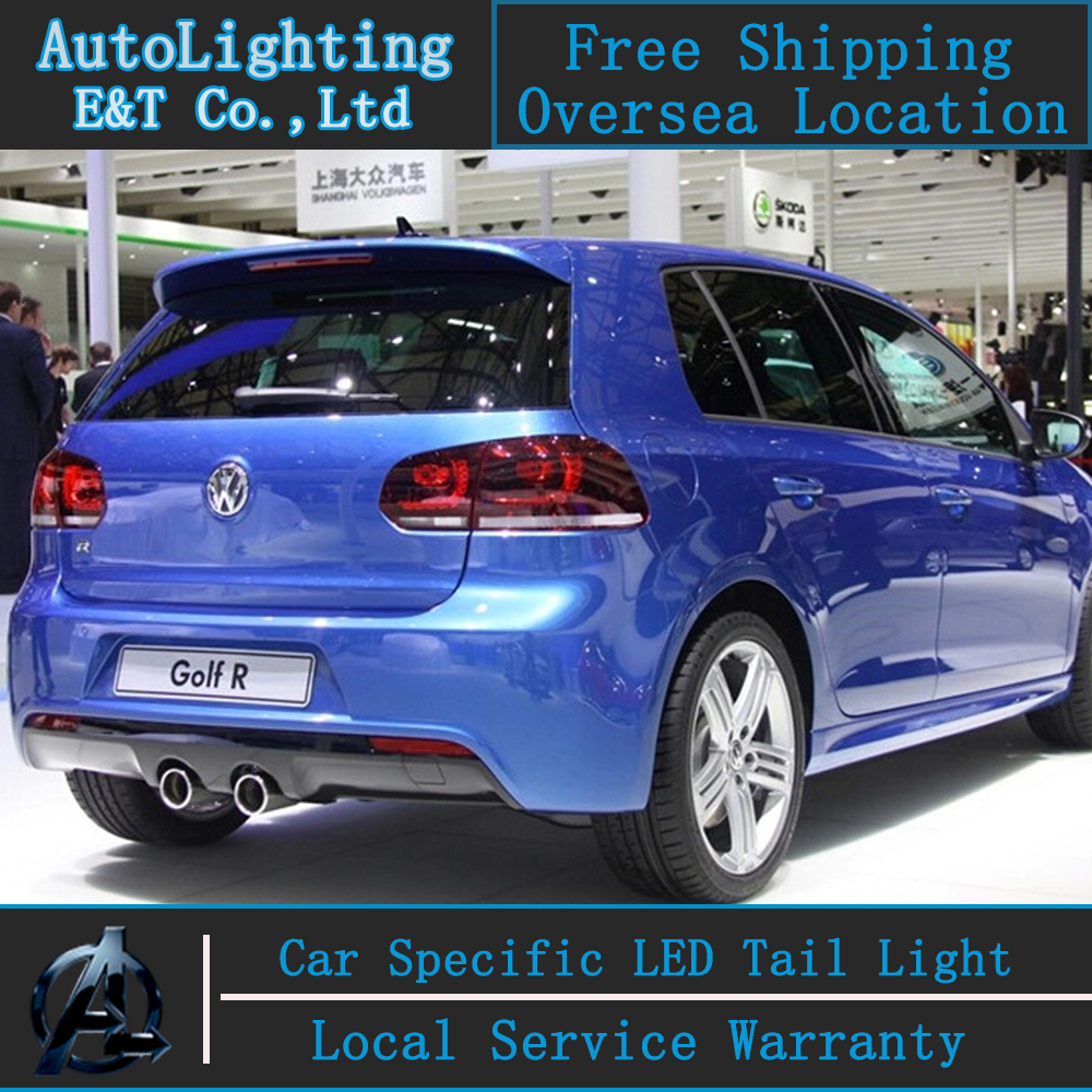 2021 Vw Golf R Rendering Is All About The Headlights: Car Styling VW Golf 6 Tail Lights 2009 2012 Volks Wagen
