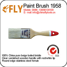 wooden handle high quality cheap paint brush