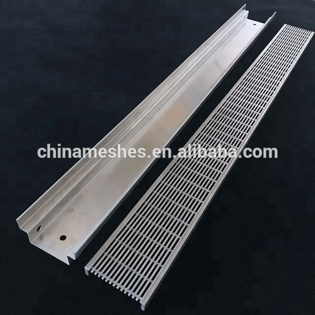 Marine Grade Stainless Steel Swimming Pool Overflow Drain Grate And Cover Grating