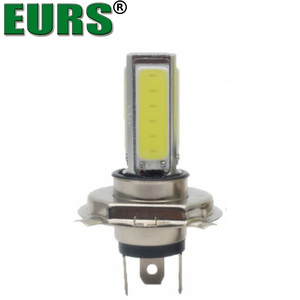 EURS LED bulbs COB fog lights Motorcycle 20W 360 degree super bright H4 H7 headlights high quality 6000K free shipping white H11