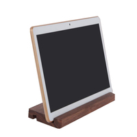 Portable and high quality wooden holder for tablet