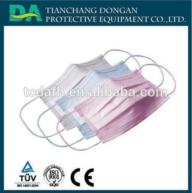Physical Inactivation Anti-Ebola Antimicrobial Face Masks/excellent filtering bacteria