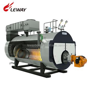 Industrial Fire Tube 500kg Oil Steam Boiler For Milk Industry From ...