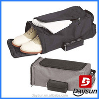 Golf shoe bag travel shoe holder bag with towel pocket