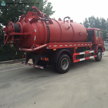 14m3 16m3 HOWO Sewage Vacuum Truck Sludge Tank Waste Water Suction