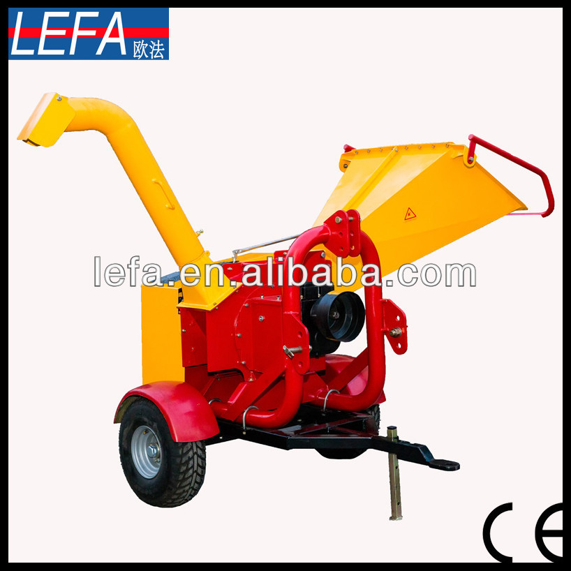 New wood chipper diesel engine