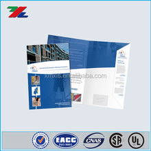 Glossy tri -folding brochure, magazine, flyer, book printing services
