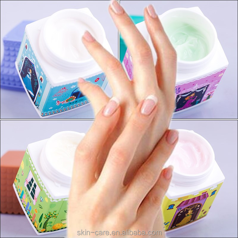 Mengkou best lovely small house hand cream for wholesale with 4 options