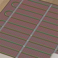 kitchen underfloor heating mat floor warming system easy installation