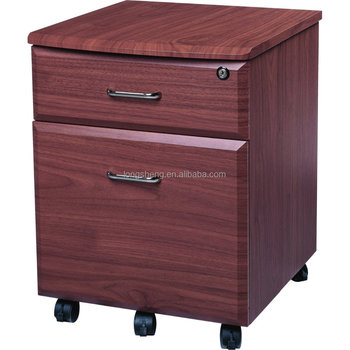 3 Drawer Lateral Wood File Cabinet in Beech