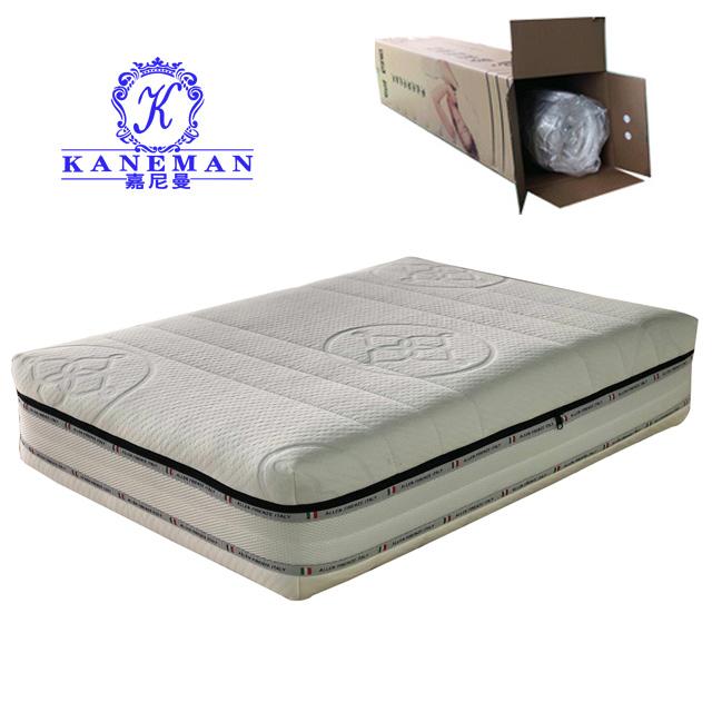 Hot Selling Vaccum Packed Visco Memory Foam Mattress In A Box