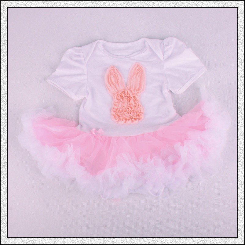 Baby Clothes Wholesale Girl First Birthday Outfits Animal Clothing Romper