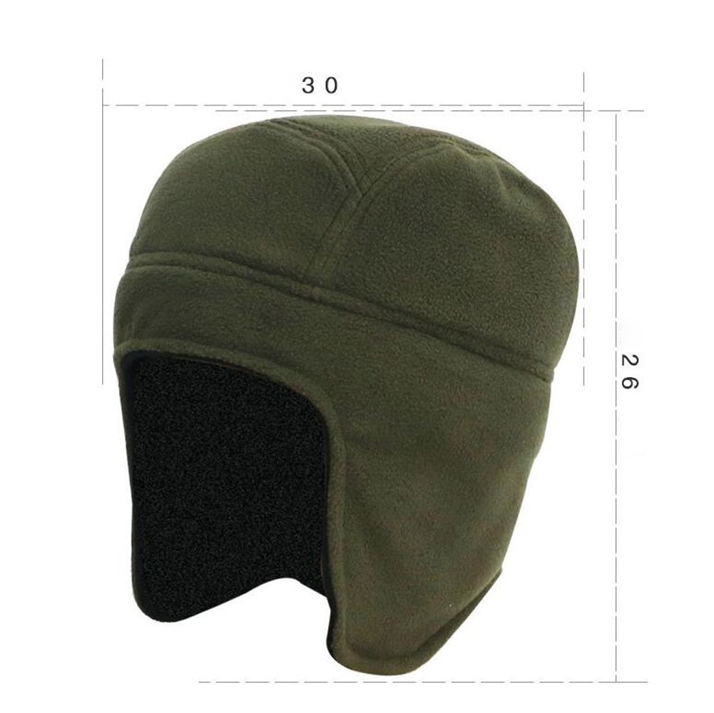 c7a21fcd7 Feitong Unisex Hats 2018 Fashion Mens Women Winter Outdoor Hat Casual Solid  Color Fleece Earflap Hat Caps Ears Warm Hat
