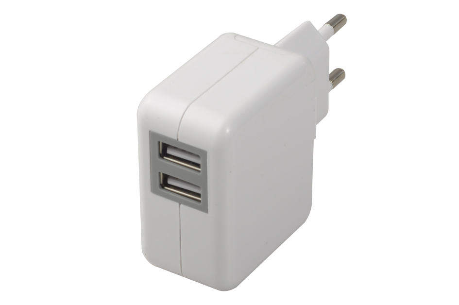 dual usb wall charger travel charger 5v 3.1a