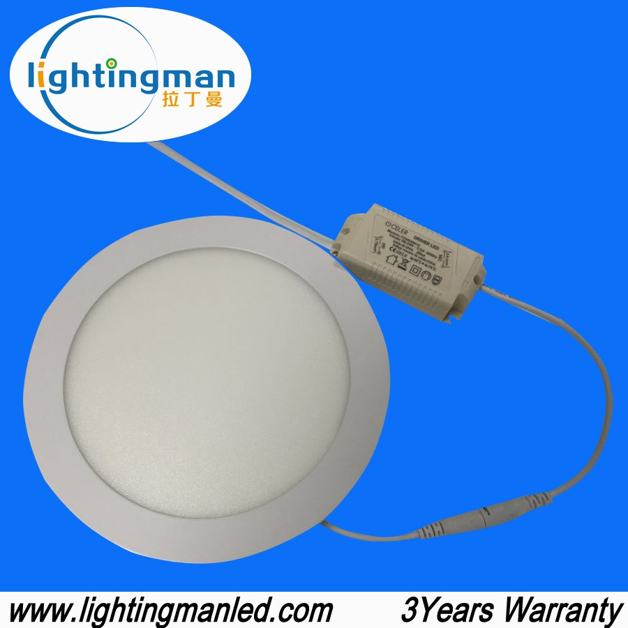 Hot sale 18w round led panel, 3W 6W 9W 12w 15w 18w led round panel light, led ceiling panel light