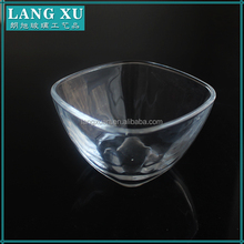 frosted glass sugar bowl
