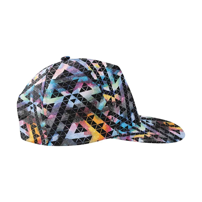 3fd683d1e3a Get Quotations · InterestPrint Unisex Hip Hop Outdoor Sport Snapback Hats  Tribal Galaxy Pattern