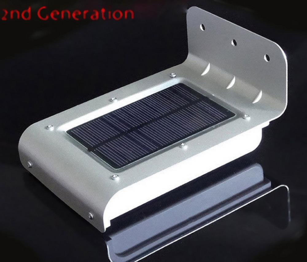 16 Led Solar Power Motion Sensor Solar Garden Light Lamp