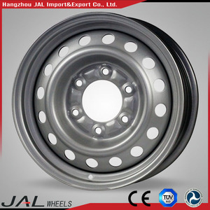 Many Design Different Size Steel Silver Spare Rim Wheel for Car Best Quality