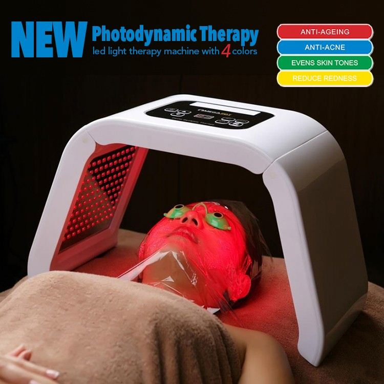 4 color led light therapy newest pdt skin rejuvenation beauty system