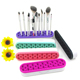 New Cosmetic Accessories Organizer Silicone Makeup Brush Holder