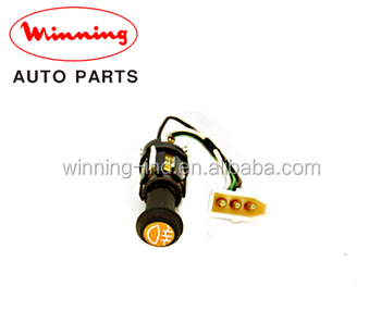 Rear Fog Light Illuminated Push On Switch Replacement Parts