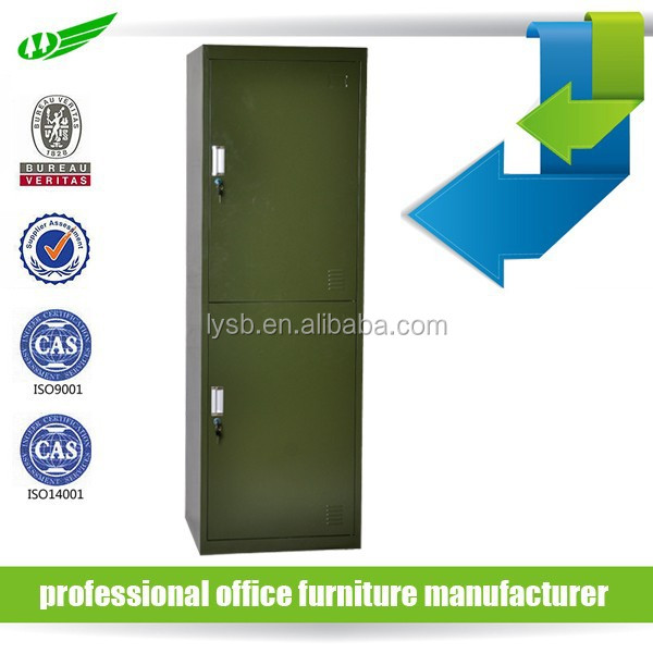 domitory furniture army green military steel metal locker