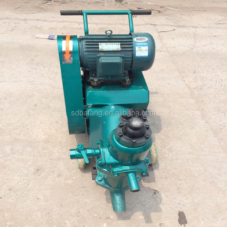 High effective mortar pump grouting machine