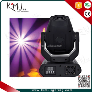 Moving Head Light Led Beam 60W 8 Colors White Stage Lighting for DJ Church Wedding Party Live Concert