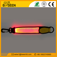 2016 unique business ideas glowing led marker band for backpack