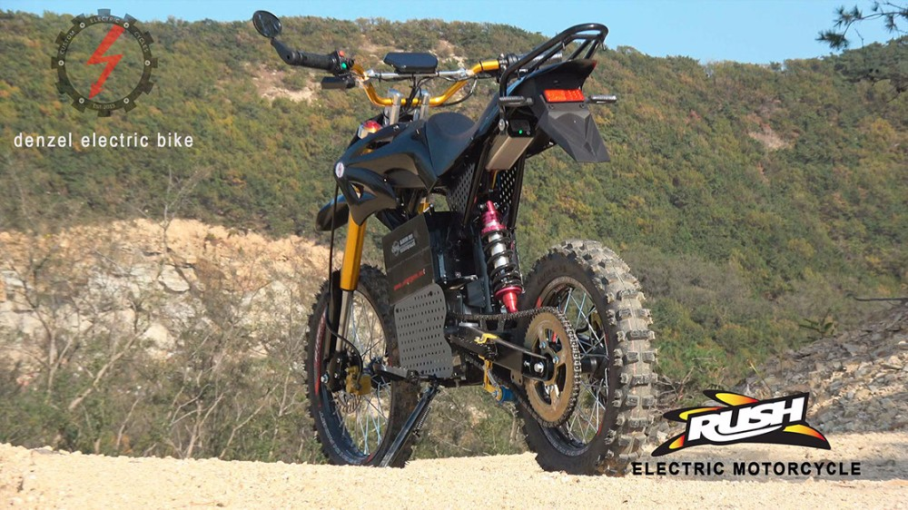 72v8000w Electric Bike Conversion Kit For High Power Dirt