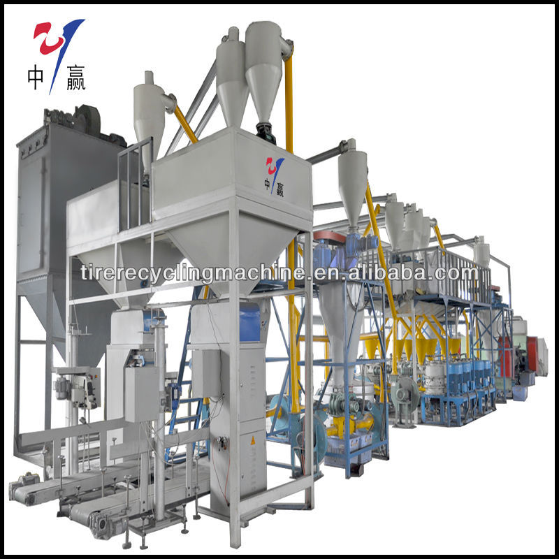 China manufacturer Waste tire recycling equipment