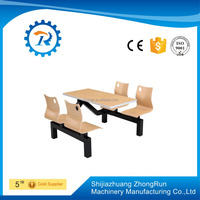 restaurant wood top dinning table