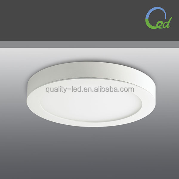 China Supplier Surface Mounted 240mm Round Flat LED Ceiling Panel Light 14W