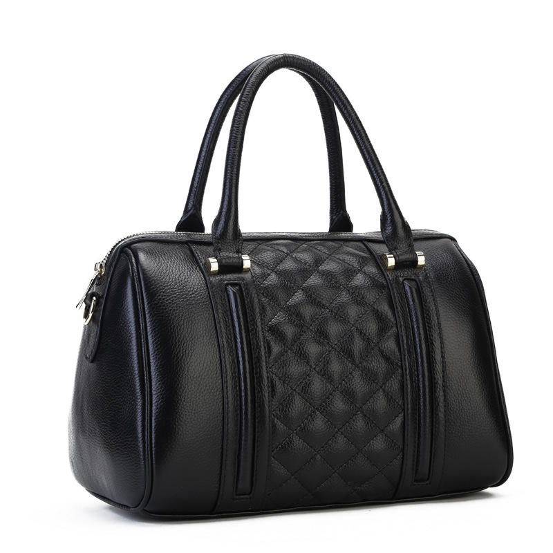 Get Quotations · Factory Outlet leather handbags fashion handbags in Europe  and America big bag pillow leather handbags wholesale fd3a58d02d945