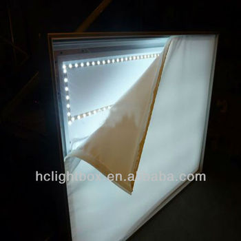 Shenzhen Factory Led Fabric Lightbox For Retail And