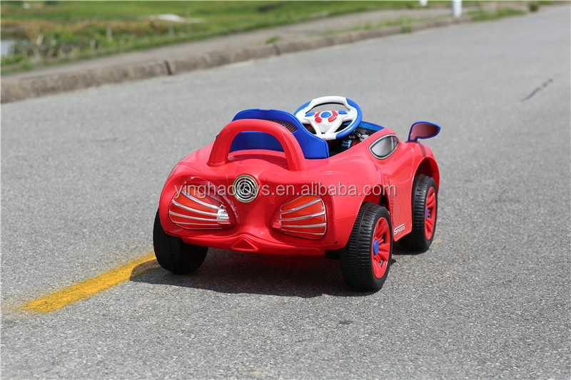 Red Spiderman Battery Operated Car RC Control