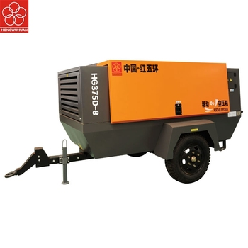 Direct Drive Mobile 13bar 20kw 750cfm Diese Belt 10hp Stationary Silent 8bar Portable Machines Electric Air Compressor Screw