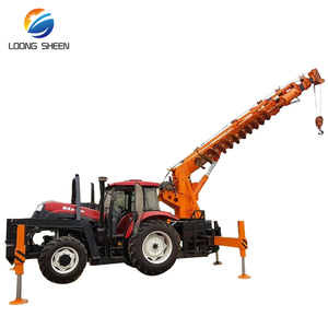 Best Selling Forestry Machine Crane To Tractor