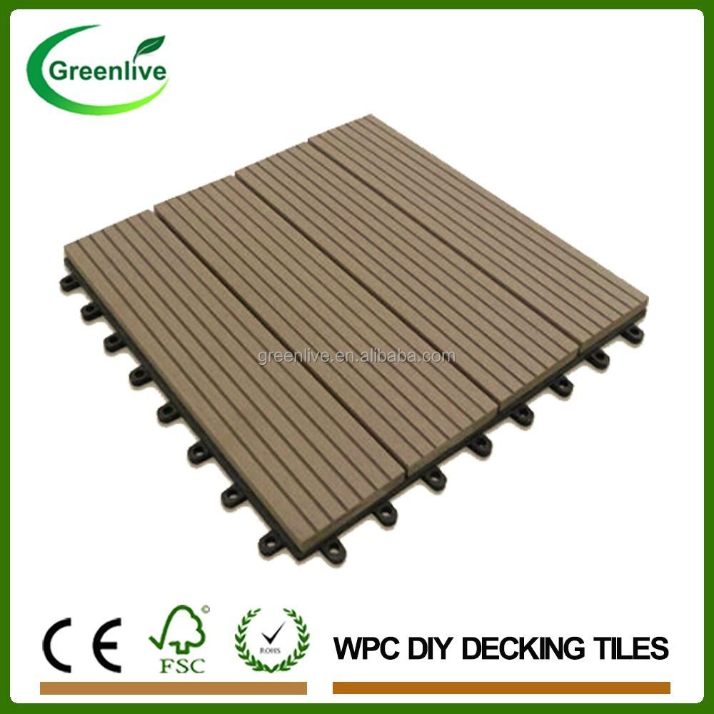 Garden Path Interlocked Outdoor Plastic Square Wood Deck Tiles Buy