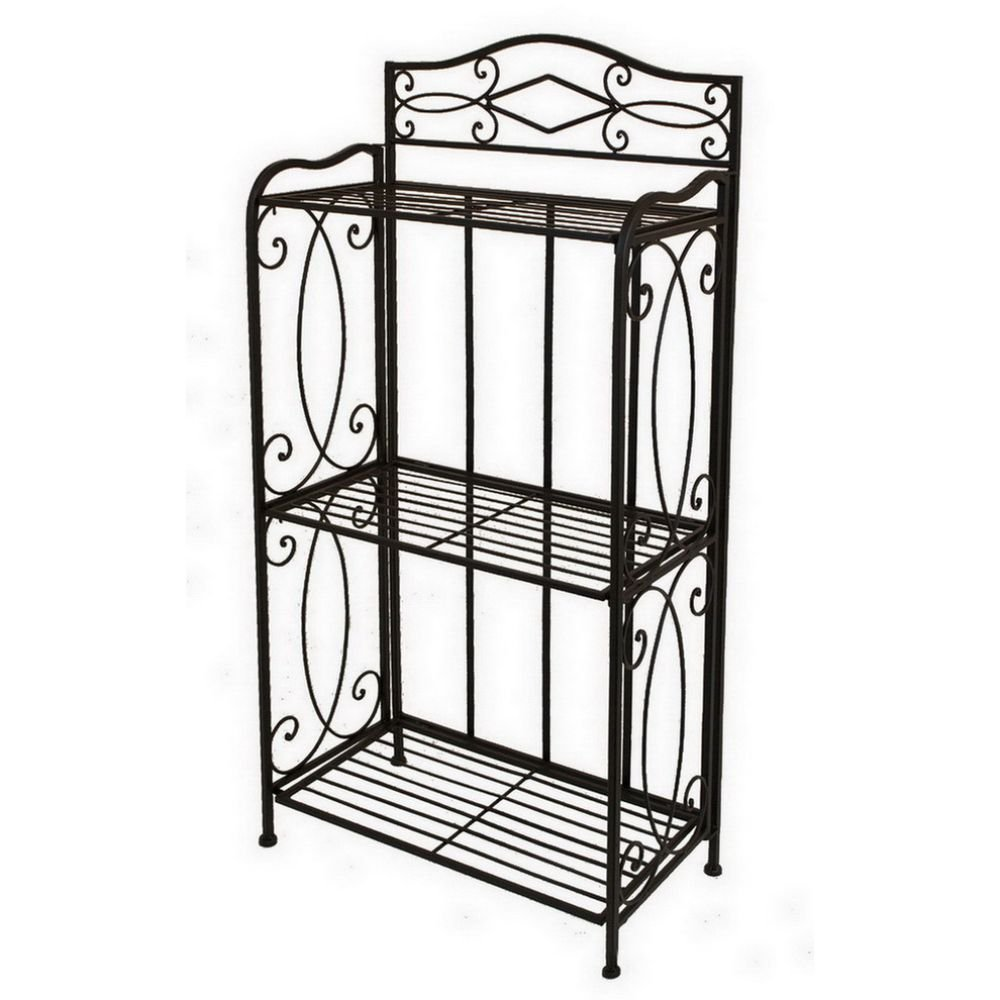 "Benzara HRT-25266 Not Applicable 25266 40"" Bakers Rack"