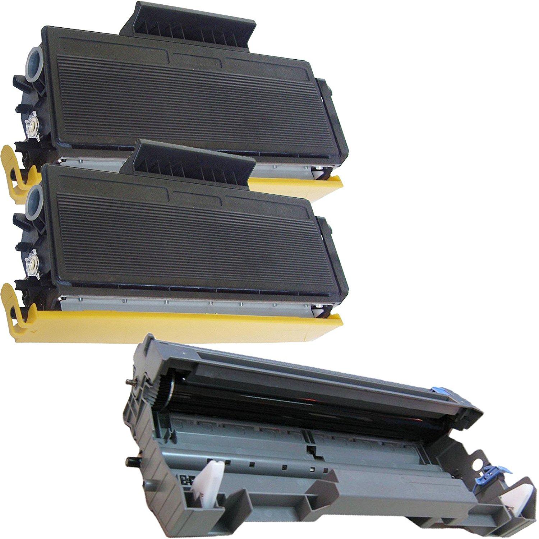 (1 Drum + 2 Toner) Inktoneram Replacement toner cartridges & Drum for Brother TN650 TN620 DR620 DR-620 TN-650 TN-620 Set MFC-8480DN MFC-8890DW DCP-8080DN DCP-8085DN HL-5340D HL-5370DW HL-5370DWT