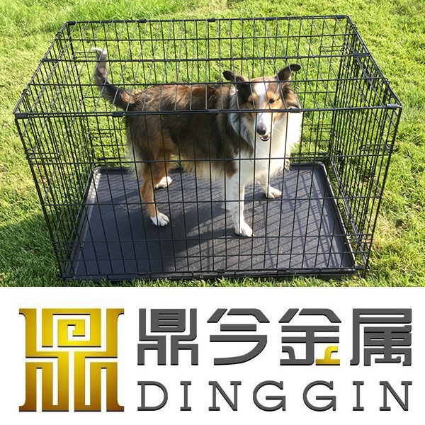 "30"" stainless steel dog cage"