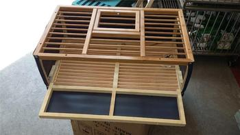 Folding Pigeon Cage Oem Wooden Outdoor Bird Cages Pigeon Release Cages