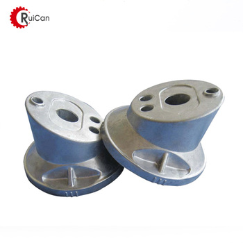 OEM customized precision aluminium die casting parts stainless steel van stone pipe puddle floor backing steel flange